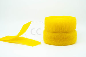 Yellow Sew-on Hook & Loop tape Alfatex® Brand supplied by the Velcro Companies