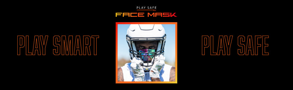 Play Safe Sports Face Mask Product Header