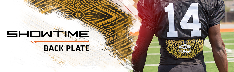 Showtime Gold Tribal Back Plate Product Header