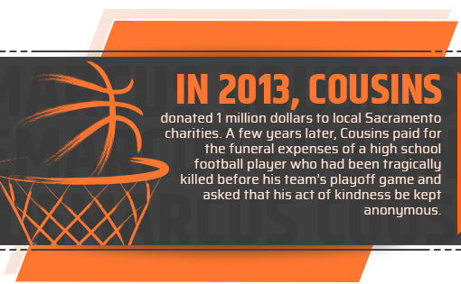 DeMarcus Cousins Philanthropy Quote