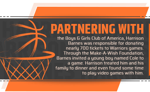 Harrison Barnes Philanthropy Quote
