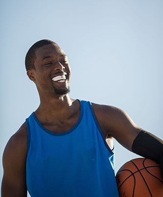 Harrison Barnes Smiling with Mouthguard