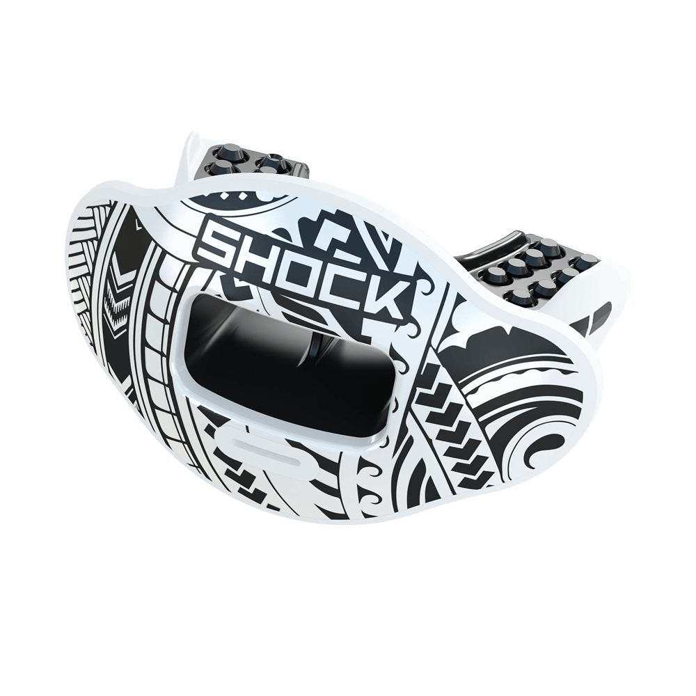 Chrome Tribal Max AirFlow Football Mouthguard