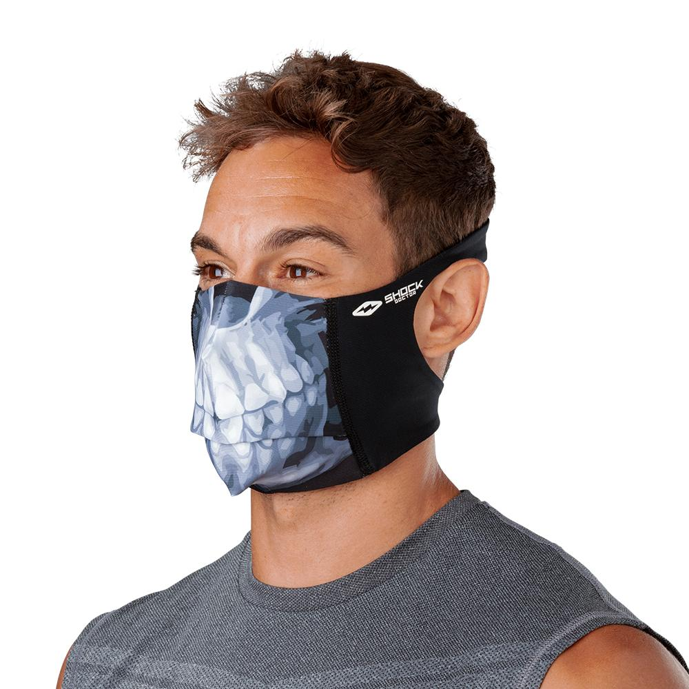 Skull Play Safe Face Mask