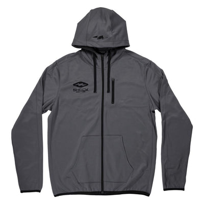 Athletic Zip-Up Hoodie