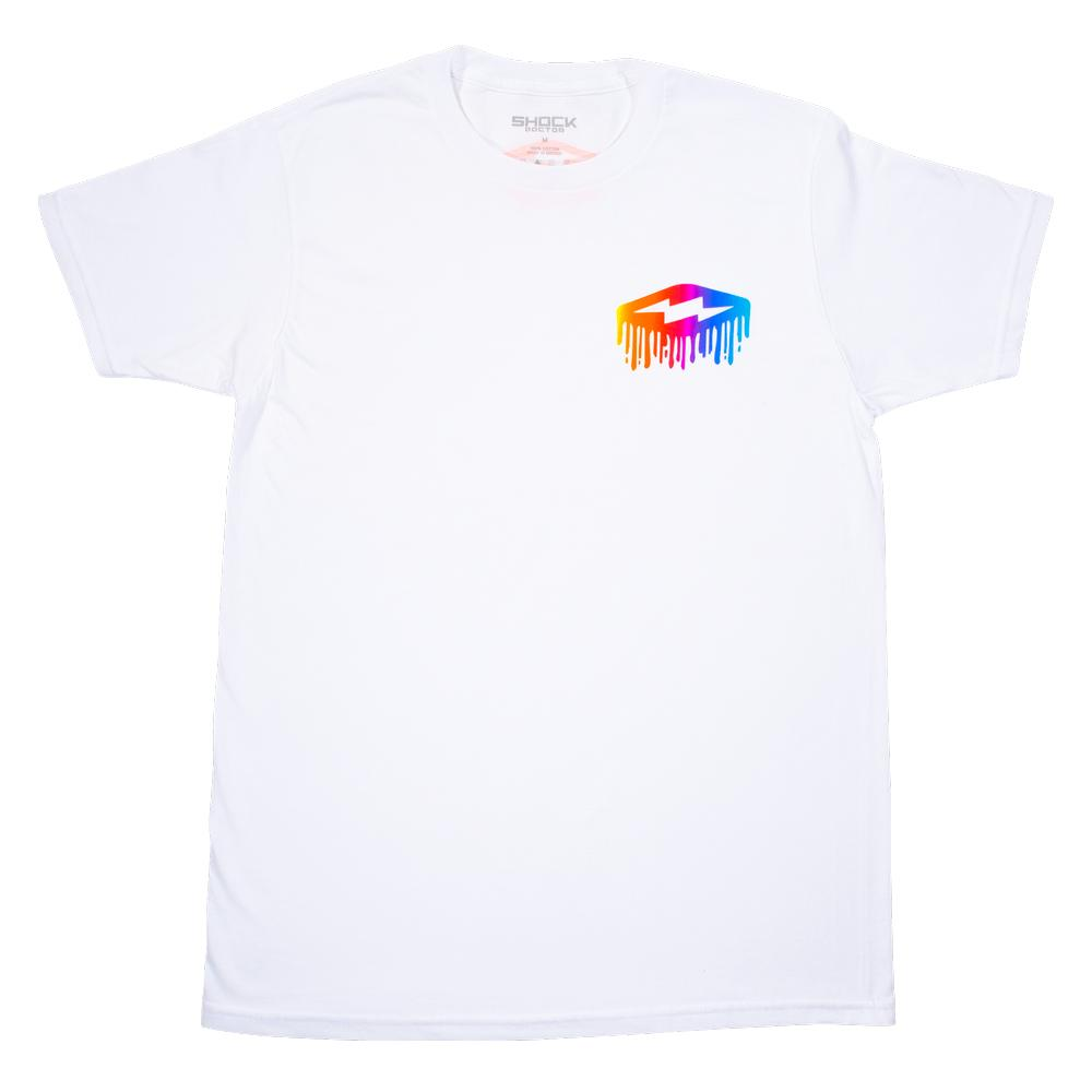 Multi Color Bolt Drip T-Shirt