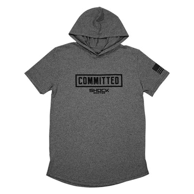 Lightweight Committed Short Sleeve Hoodie