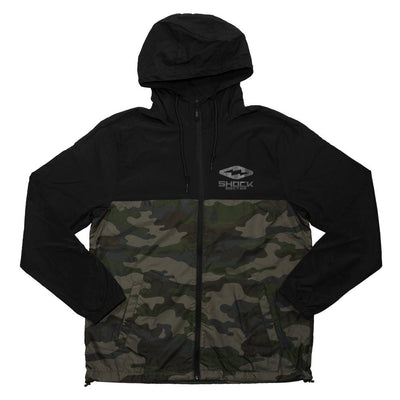 Lightweight Camo Windbreaker Jacket