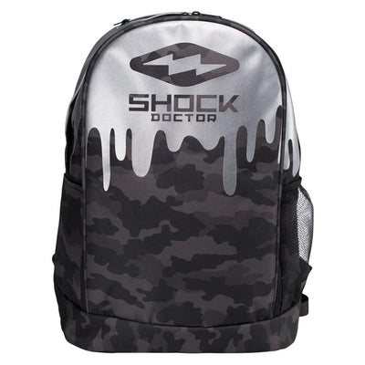 Shock Doctor Premium Camo Drip Backpack - Front View