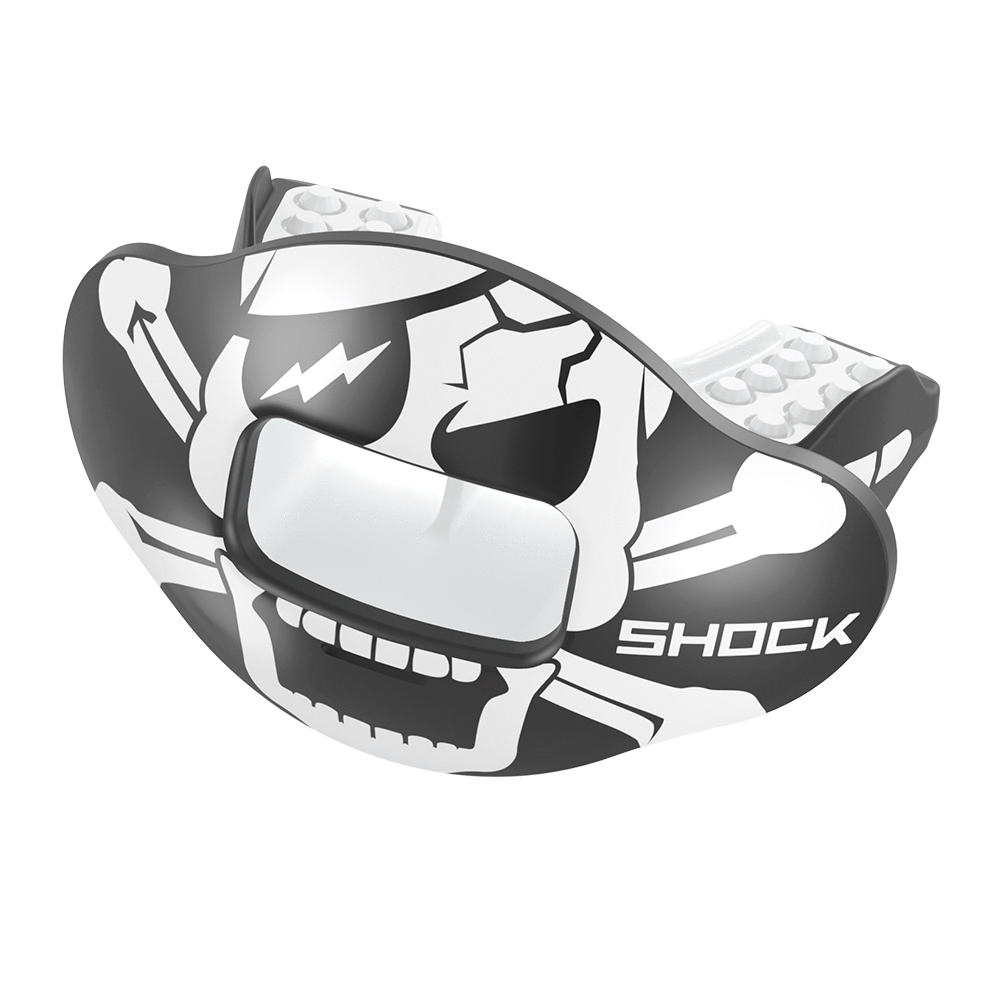 Skull & Crossbones Max AirFlow Football Mouthguard