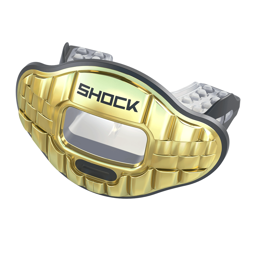 Chrome 3D Bling Max AirFlow Mouthguard