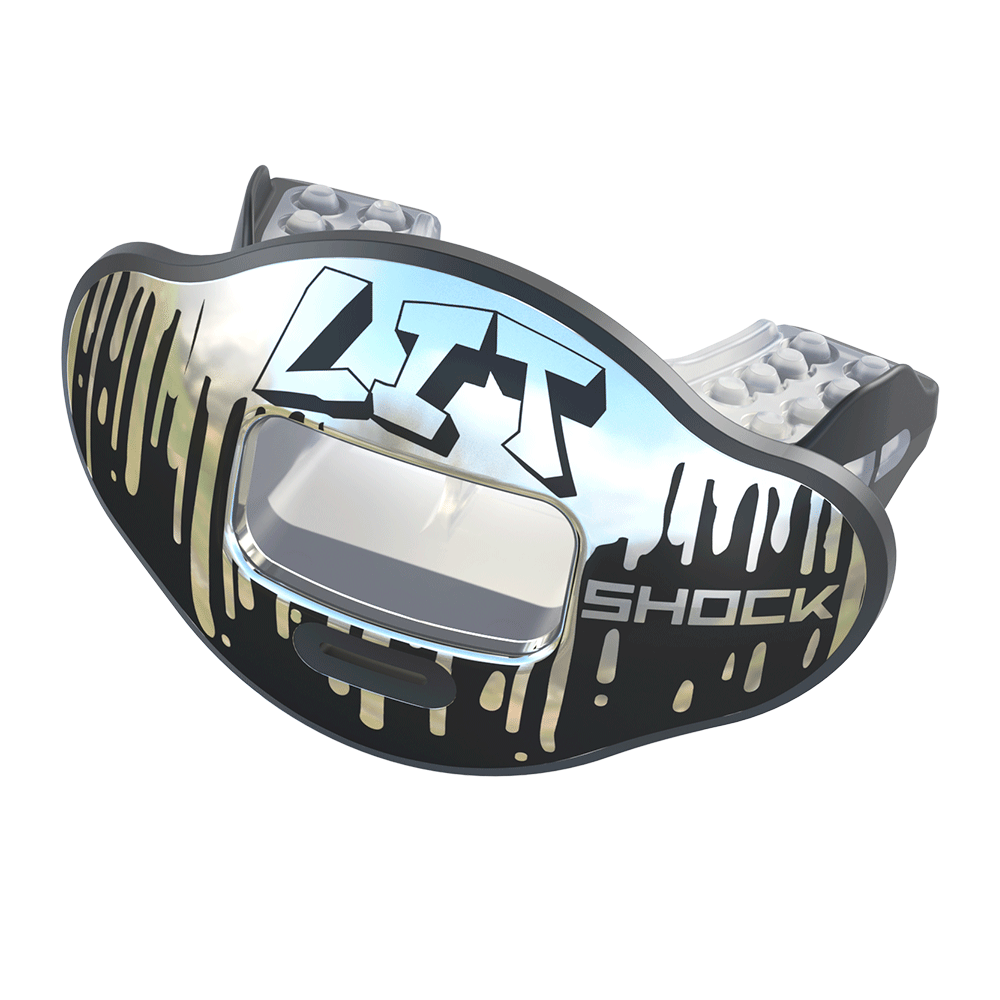 Chrome LIT Max AirFlow Football Mouthguard