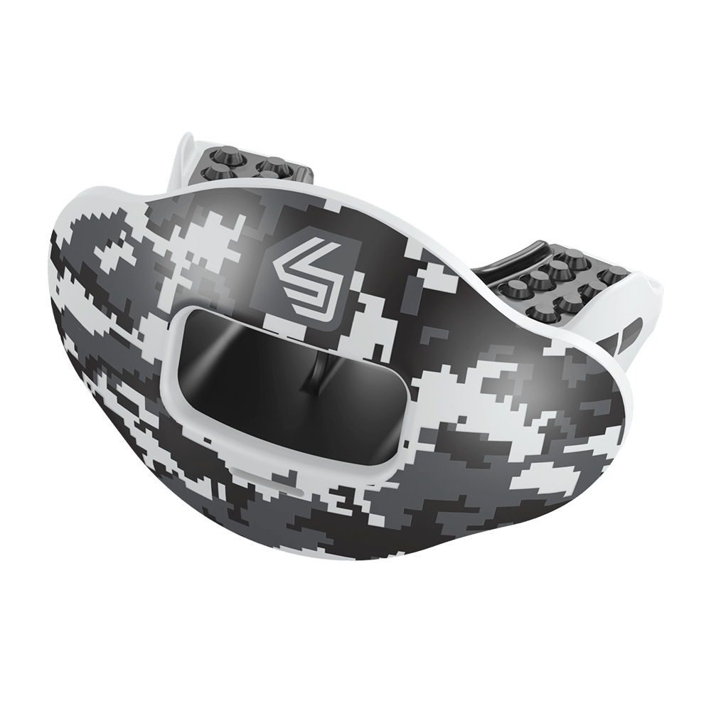 Black Camo Max AirFlow Football Mouthguard (Previous Version)