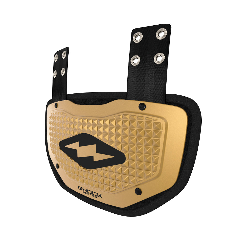 Showtime Gold 3D Pyramid Back Plate