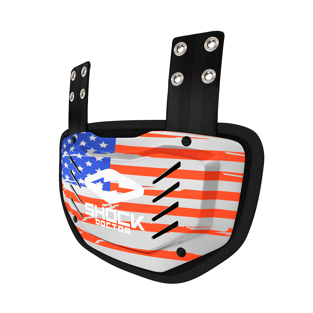 Showtime USA Flag Back Plate