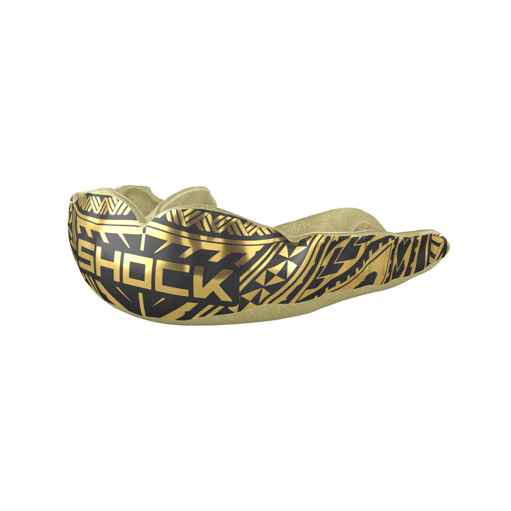 MicroFit Gold Chrome Tribal Mouthguard