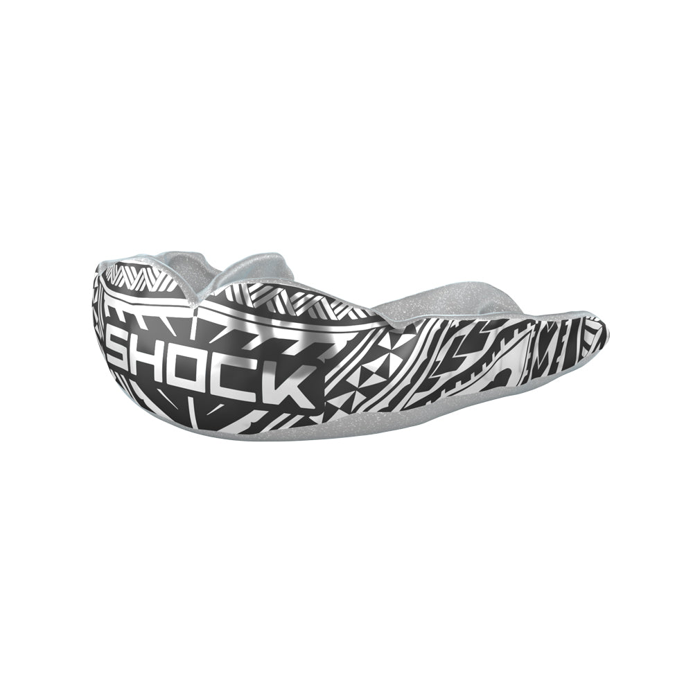 MicroFit Silver Chrome Tribal Mouthguard