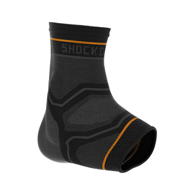 Compression Knit Ankle Sleeve with Gel Support