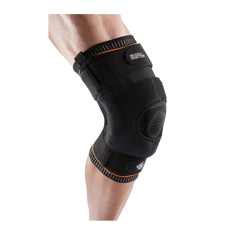 Ultra Knit Knee Brace w/Dual Wrap & Hinges