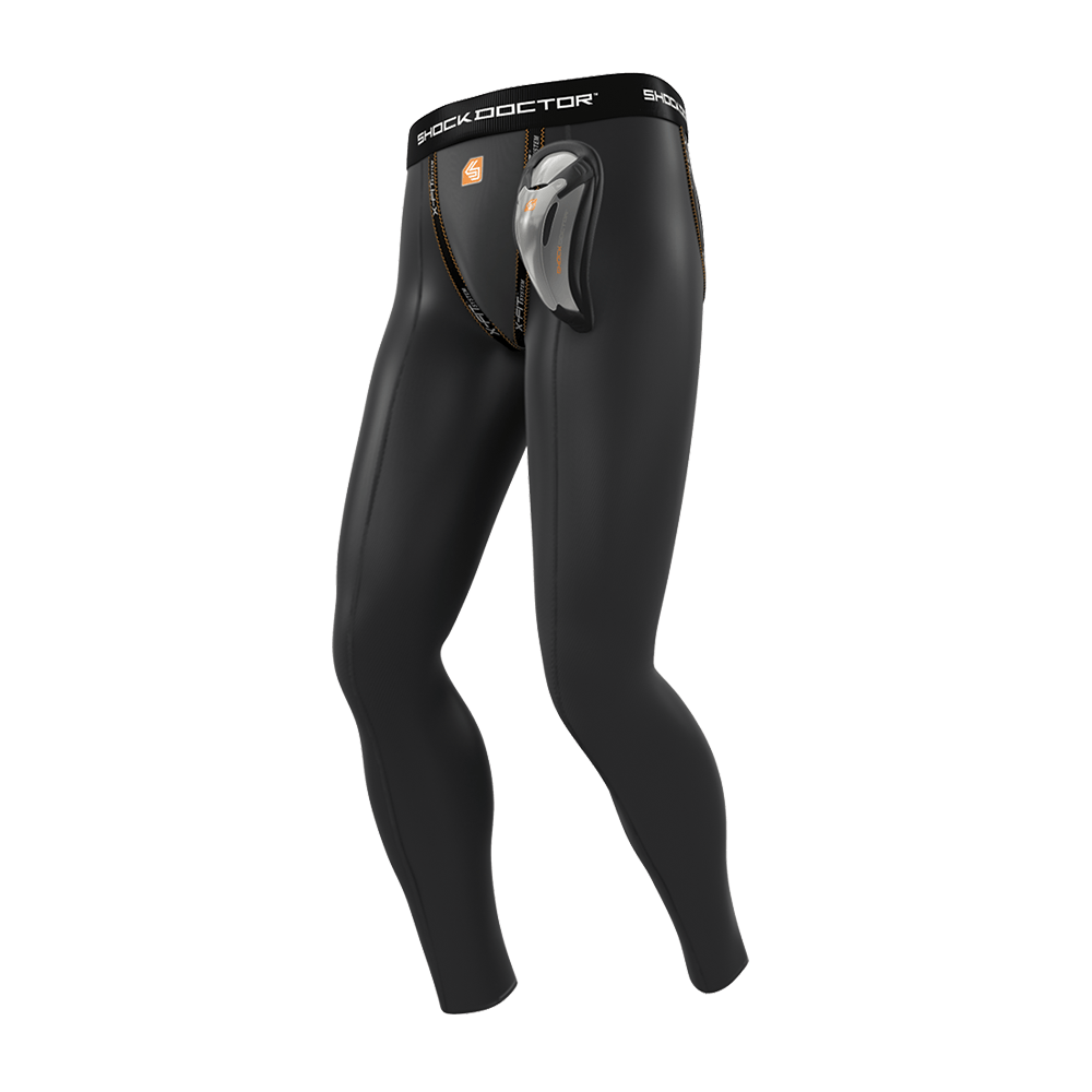 Core Long Compression Pant with Bio-Flex Cup