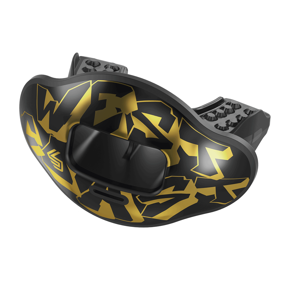 Chrome West Coast Max AirFlow Football Mouthguard
