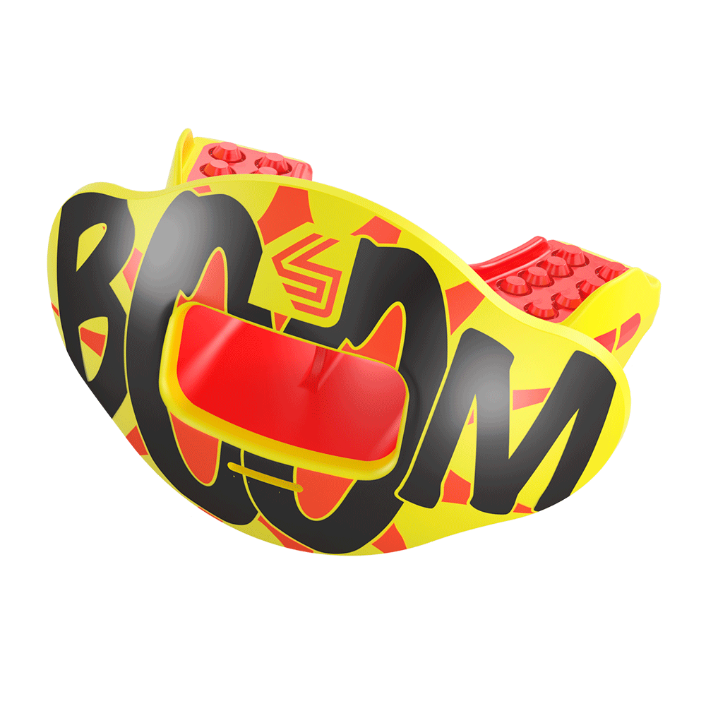 Comic Print Max AirFlow Mouthguard