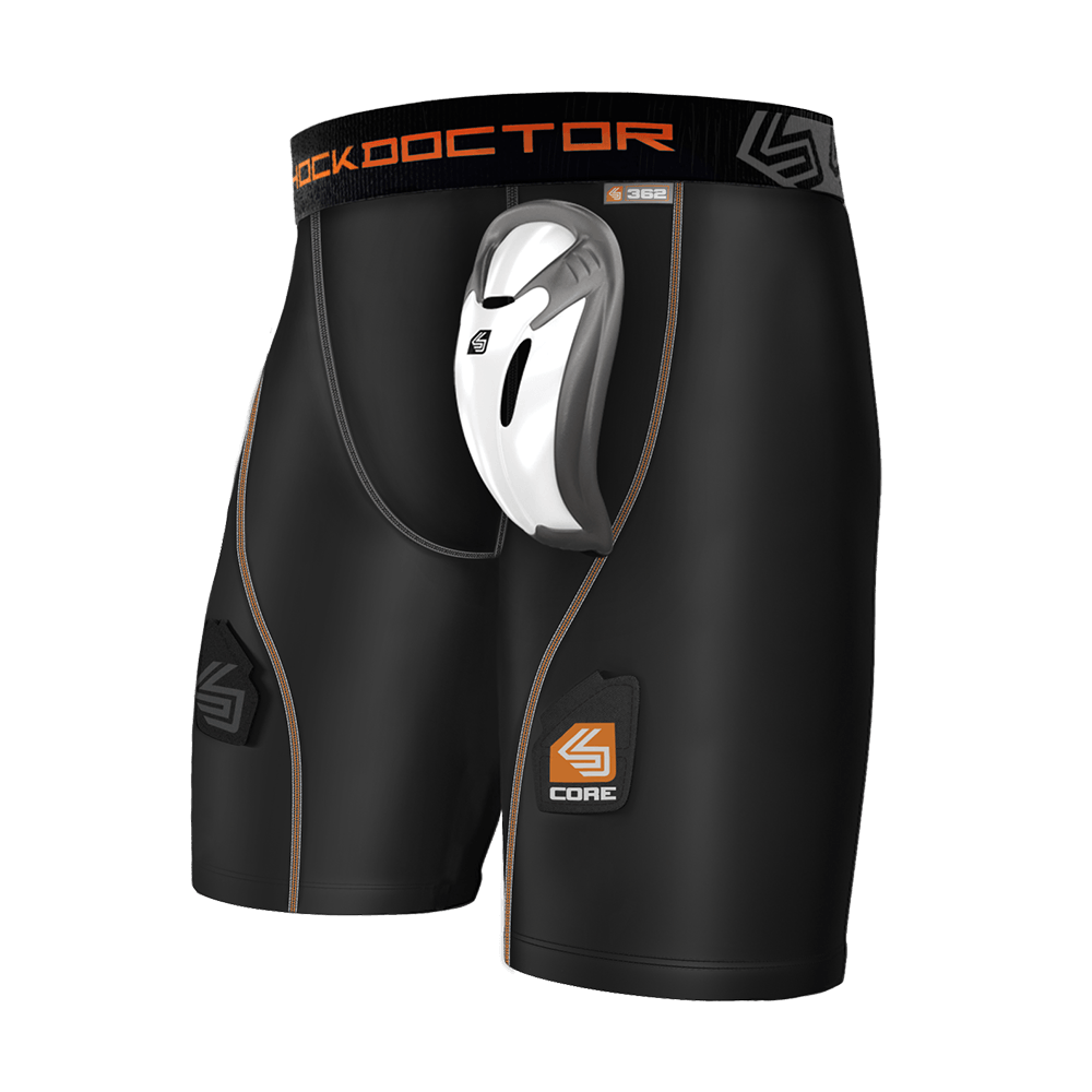 Core Hockey Short with Bio-Flex Cup