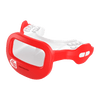 Red Mutant Shock Doctor Mouthguard for Youth and Adult Athletes - Side View