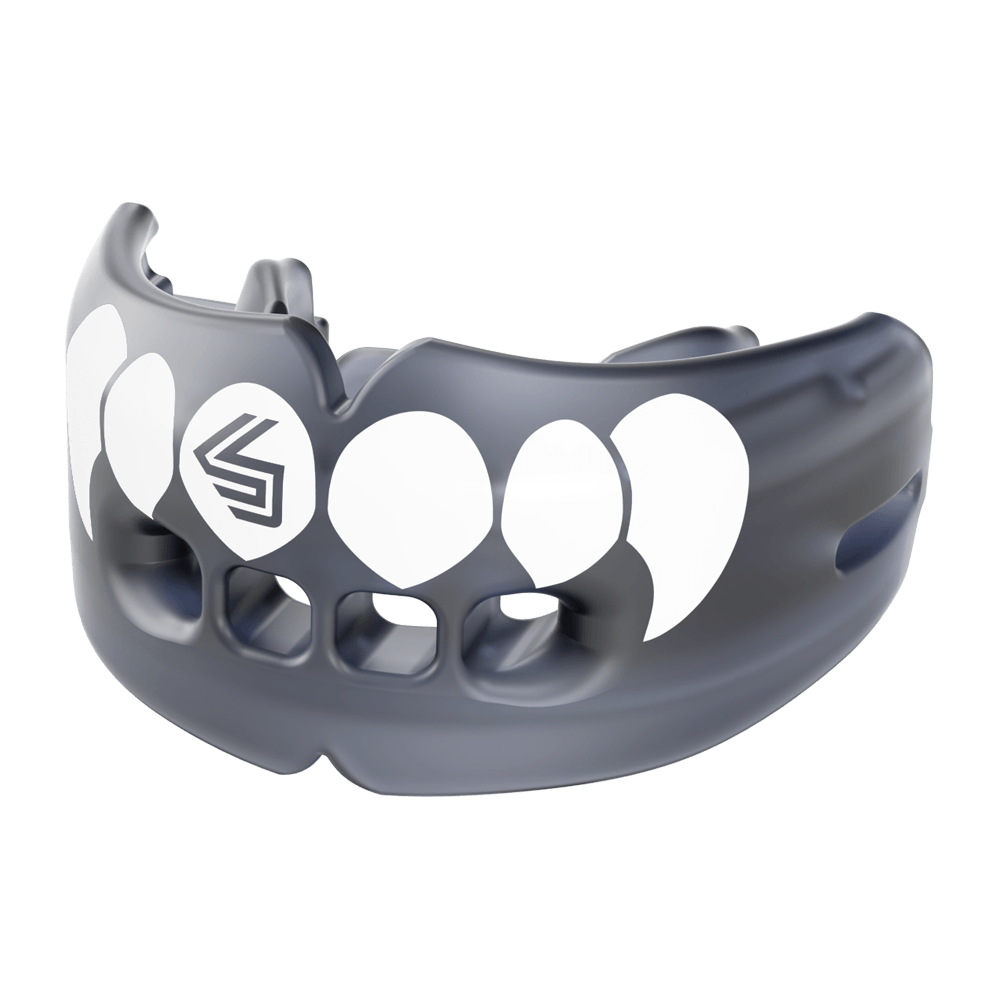 Shock Doctor Double Braces Mouth Guard Sports Upper /& Lower Protection Your ...