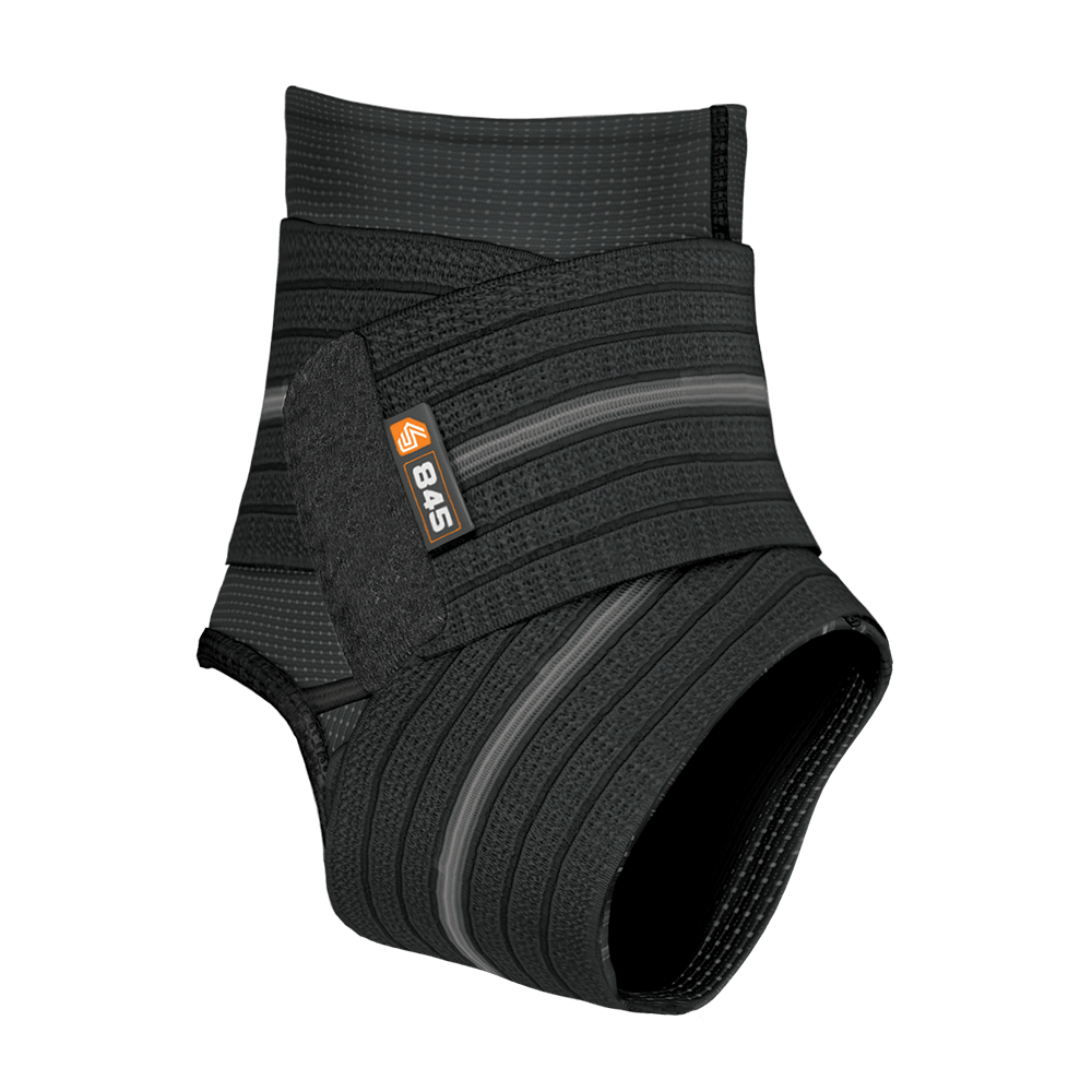 Ankle Sleeve with Compression Wrap Support