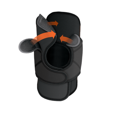 Quick-On™ Knee Stabilizer w/ Flexible Support Stays