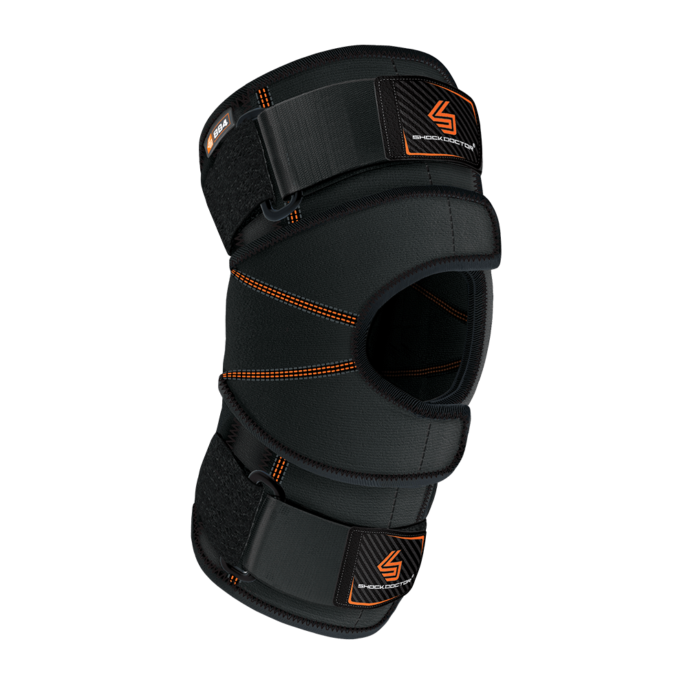 Quick-On™ Knee Stabilizer w/ Flexible Support Stays & Straps