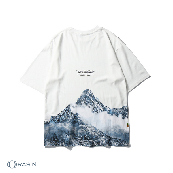 Snow Mountain T-Shirts ( M TO XXL )