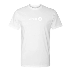 White Vertigo Logo on White