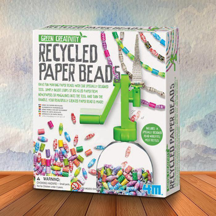 CREATE YOUR OWN RECYCLED PAPER BEADS KIT | 4M