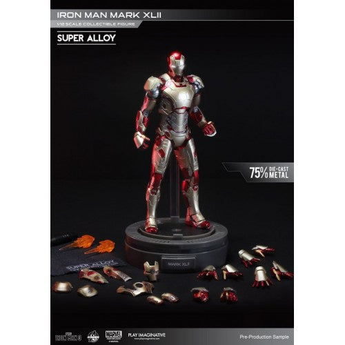 Iron Man - Mark 42 1/12Th Scale Super Alloy Action Figure