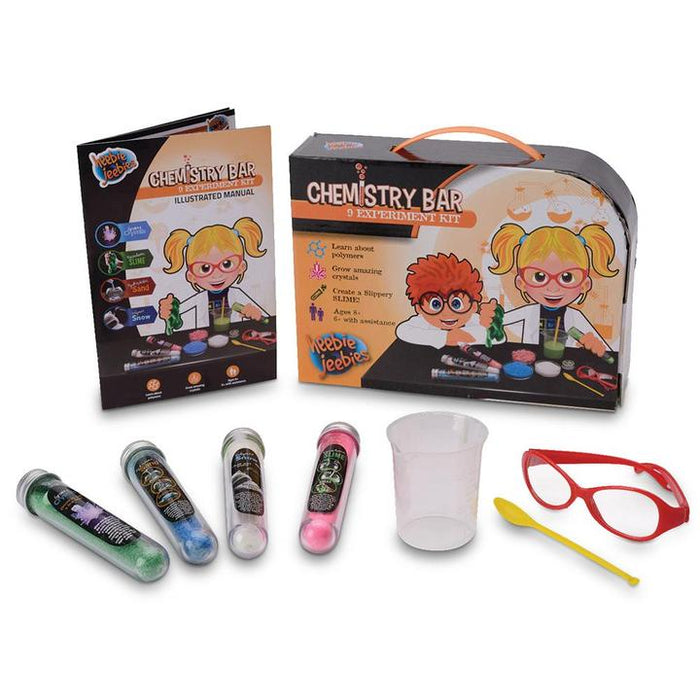Heebie Jeebies Chemistry Bar Experiment Kit