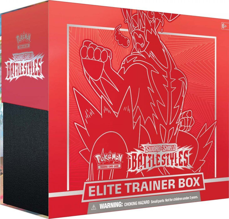 POKÉMON TCG Sword and Shield - Battle Styles Trainer Box RED