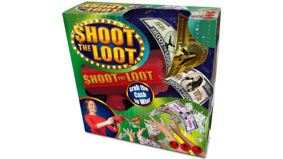 Shoot the Loot Board Game