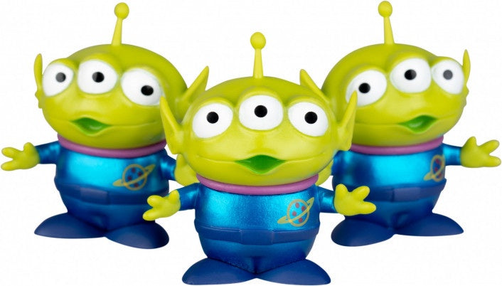 Mini Egg Attack Toy Story Alien Metallic Colour