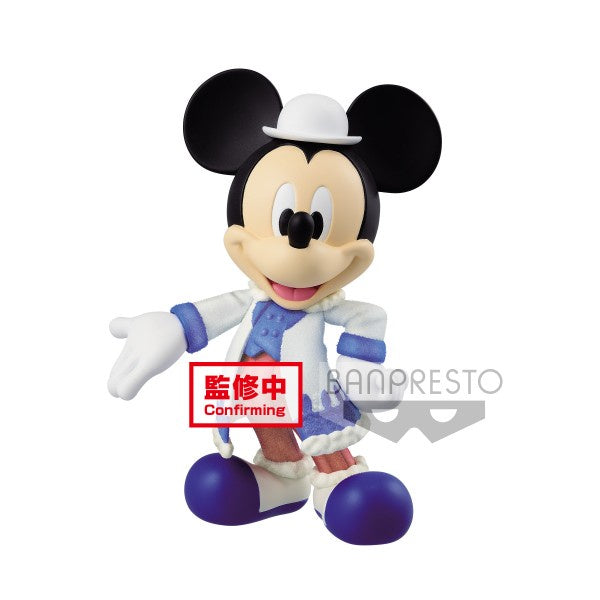 MICKEY MOUSE - QPOSKET FLUFFY PUFFY - MICKEY