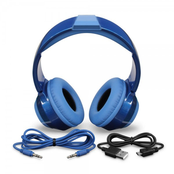 Mega Man Headset (Limited Edition Blue) - Officially Licensed by Capcom