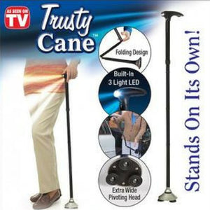 Trusted Cane With Built-in LED Lights