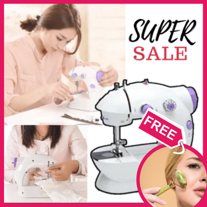 Mini Dual Speed Sewing Machine + FREE GIFT  ⭐⭐⭐⭐⭐