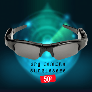 HI-TECH VIDEO SPY CAMERA SUNGLASSES