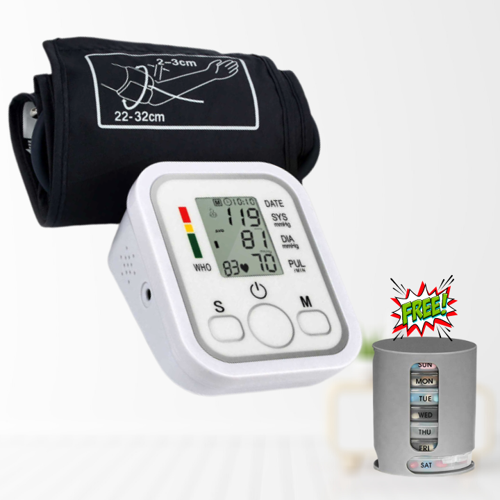 100 OFF DISCOUNT High Precision Digital Blood Pressure Monitor + FREEBIE ⭐⭐⭐⭐⭐