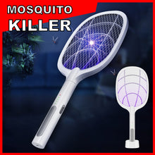 Load image into Gallery viewer, 2 IN 1 LAMP & RACKET ELECTRIC MOSQUITO KILLER 🦟🦟🦟
