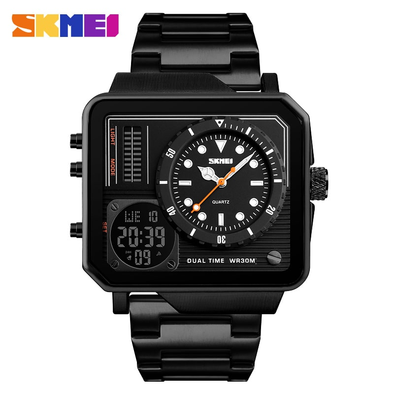 SKMEI DUAL TIME MULTIFUNCTIONAL ORIGINAL
