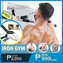 Load image into Gallery viewer, AZE Iron Gym Body Portable Workout bar + FREE GIFT ⭐⭐⭐⭐⭐