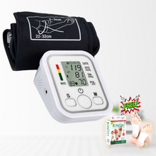 Load image into Gallery viewer, 100 OFF DISCOUNT High Precision Digital Blood Pressure Monitor + FREEBIE ⭐⭐⭐⭐⭐